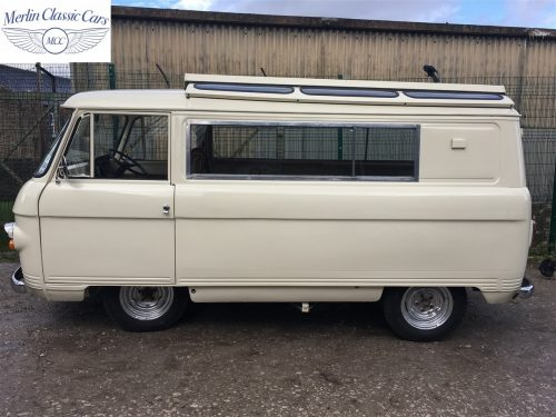 Commer Camper Van Restoration 17