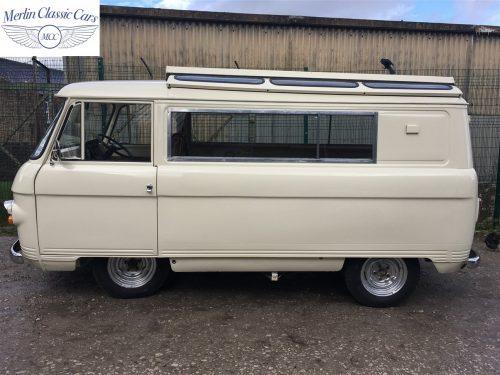 Commer Camper Van Restoration 17