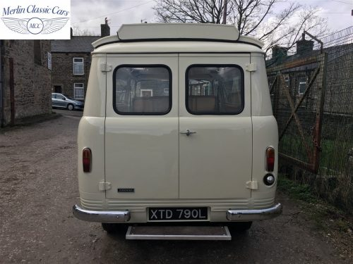 Commer Camper Van Restoration 19