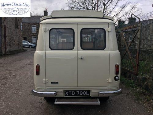 Commer Camper Van Restoration 19