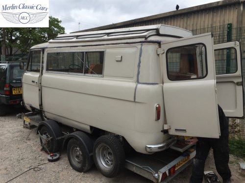 Commer Camper Van Restoration 2