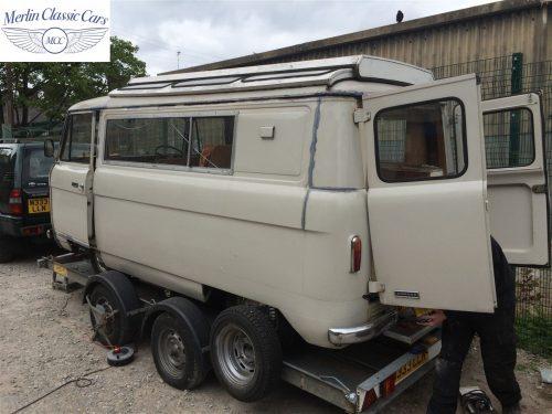Commer Camper Van Restoration 2