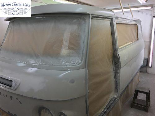 Commer Camper Van Restoration 4