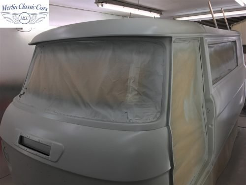 Commer Camper Van Restoration 7