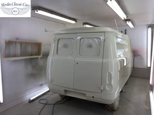 Commer Camper Van Restoration 9