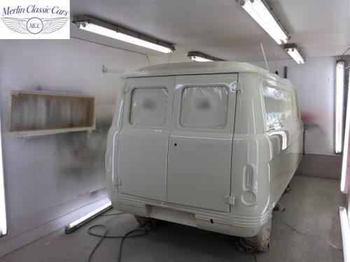 Commer Camper Van Restoration 9