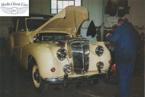 Daimler DB18 Restoration