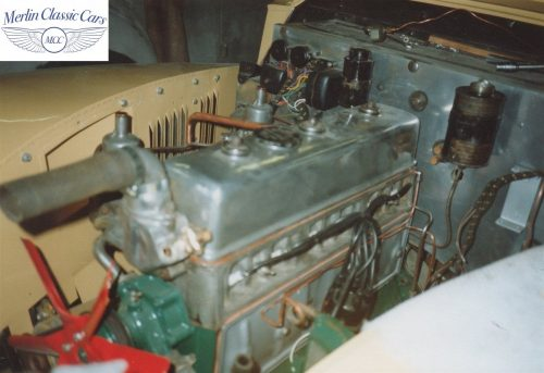 Daimler DB18 Restoration Photos Abdicated King Edward VIII Owned Car 1