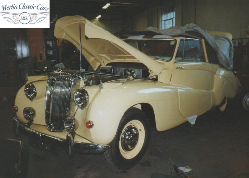 Daimler DB18 Restoration Photos Abdicated King Edward VIII Owned Car 2