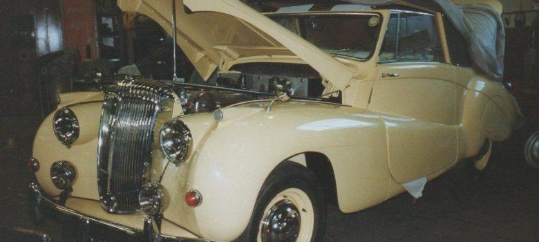 Daimler DB18 Restoration Photos Abdicated King Edward VIII Owned Car 2