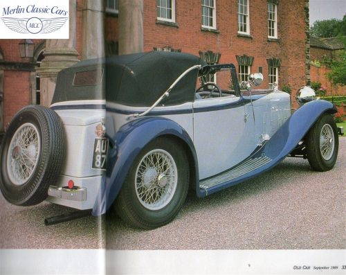 Delage D8S Photos In Magazine 2