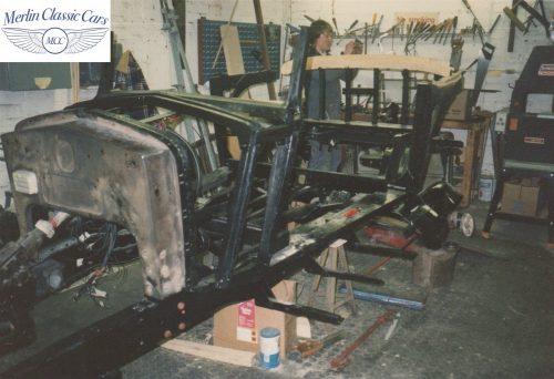 Delage D8S Restoration Photos 10