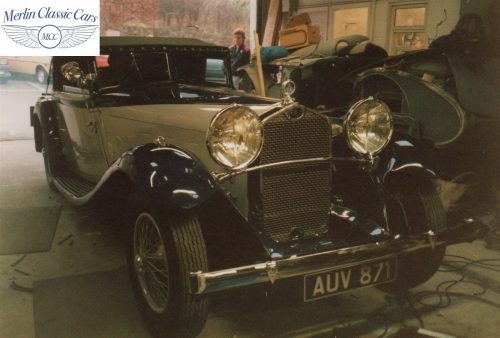 Delage D8S Restoration Photos 4
