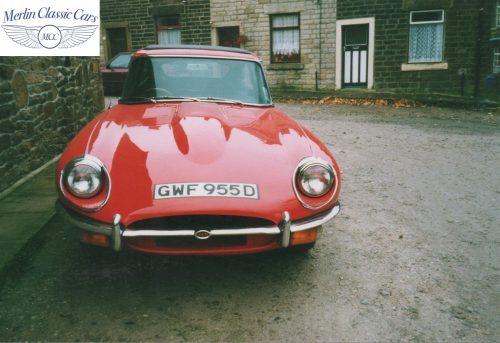 E Type Jaguar Restoration Photos Series 1 1