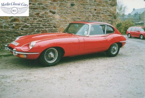 E Type Jaguar Restoration Photos Series 1 3