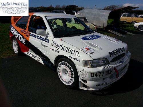 Ford Escort Cosworth Race Car 1