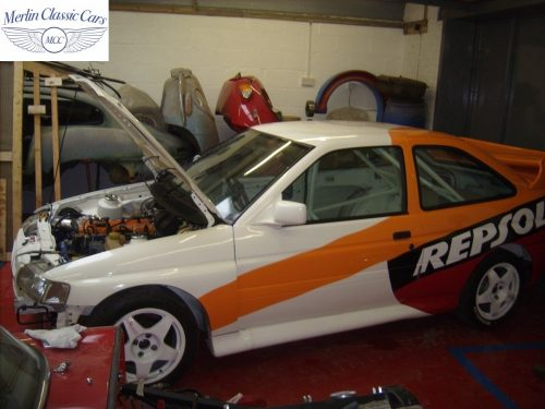Ford Escort Cosworth Race Car 2