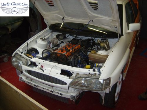 Ford Escort Cosworth Race Car 3