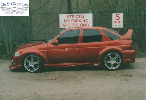 Ford Escort Styling & Paintwork 1