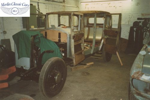 Humber Saloon 16 50 Restoration Photos 1