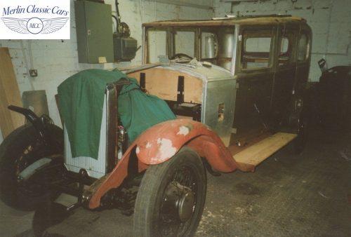 Humber Saloon 16 50 Restoration Photos 2