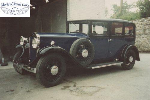 Humber Saloon 16 50 Restoration Photos 4