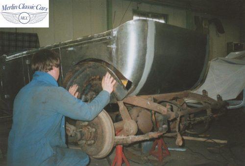 Humber Tourer 16 50 Restoration Photos 2