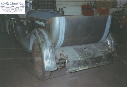 Humber Tourer 16 50 Restoration Photos 3