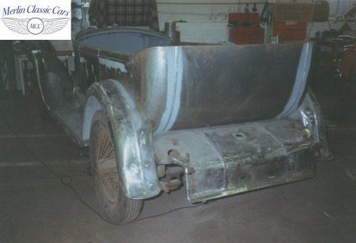 Humber Tourer 16 50 Restoration Photos 3