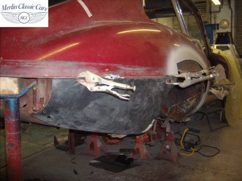 Jaguar E Type Restoration Photos 1970 Series II 2