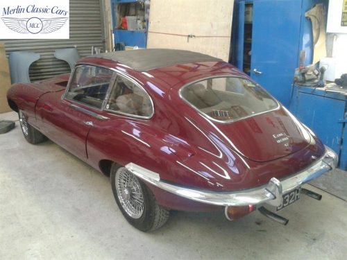 Jaguar E Type Restoration Photos 1970 Series II 4