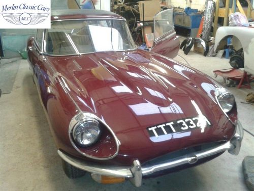 Jaguar E Type Restoration Photos 1970 Series II 5