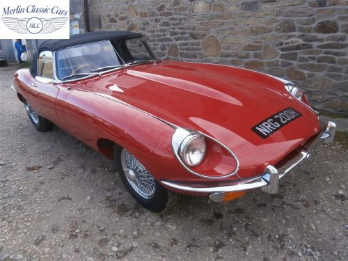 Jaguar E Type Series 2 For Sale 1