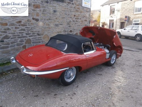 Jaguar E Type Series 2 For Sale 12