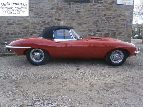 Jaguar E Type Series 2 For Sale 3