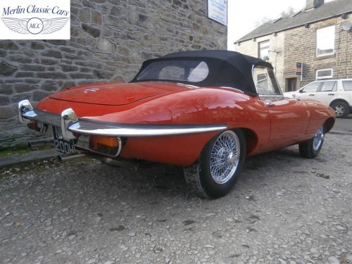 Jaguar E Type Series 2 For Sale 4