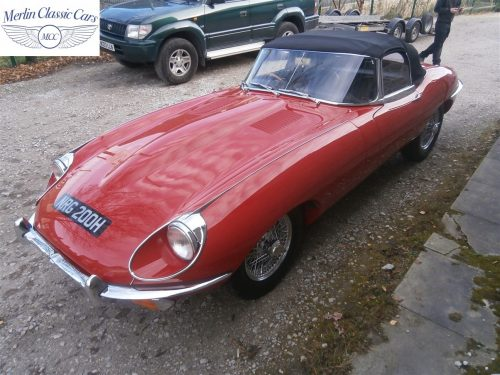 Jaguar E Type Series 2 For Sale 9