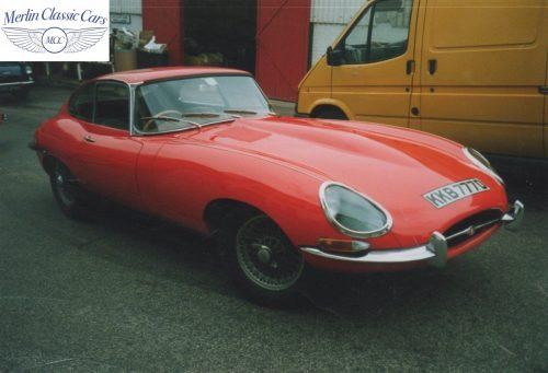 Jaguar E Type Series I 1