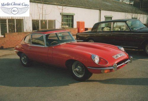 Jaguar E Type Series I 2