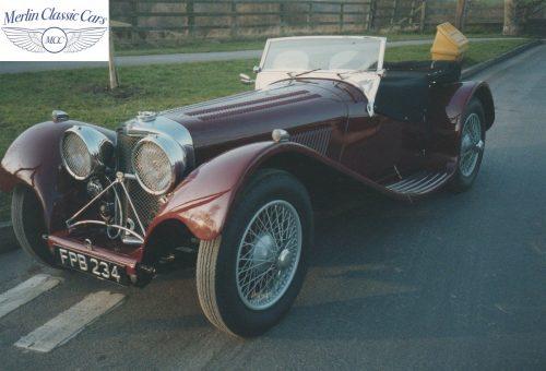 Jaguar SS 100 3.5L Restoration 1