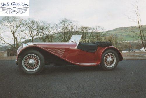 Jaguar SS 100 3.5L Restoration 2