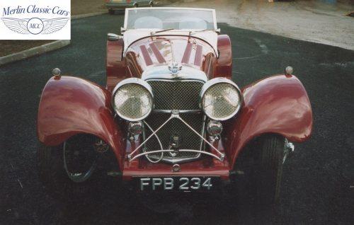 Jaguar SS 100 3.5L Restoration 3