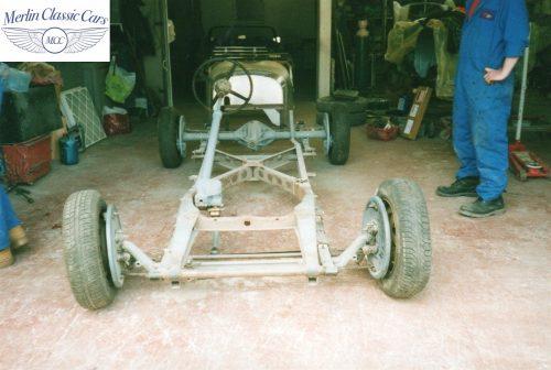 Jaguar SS 100 Restoration 1