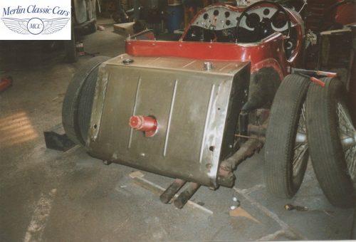 Jaguar SS 100 Restoration 3 2