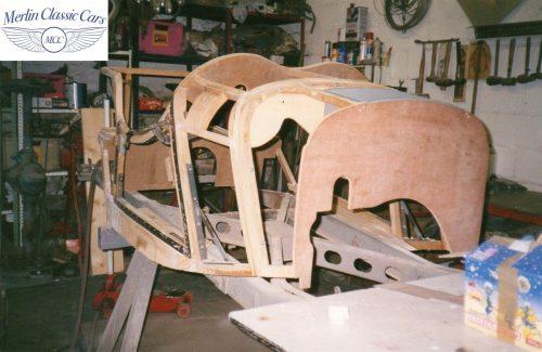 Jaguar SS 100 Restoration 3