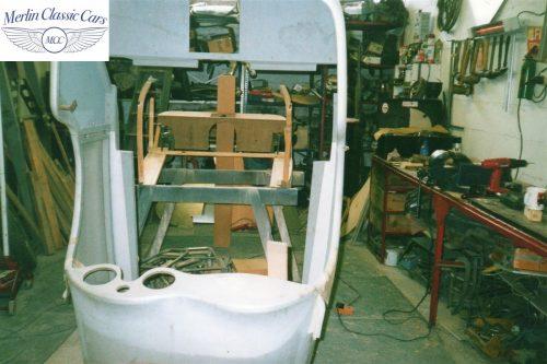 Jaguar SS 100 Restoration 4