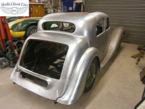 Jaguar SS Saloon Restoration 1