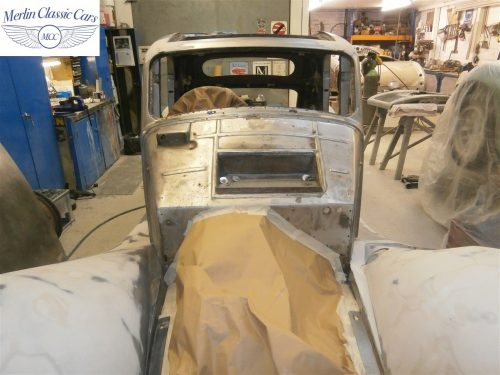 Jaguar SS Saloon Restoration 13