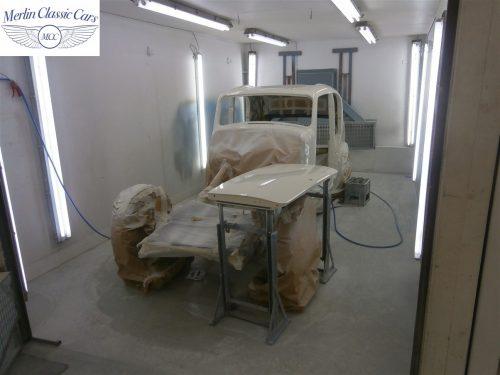Jaguar SS Saloon Restoration 19