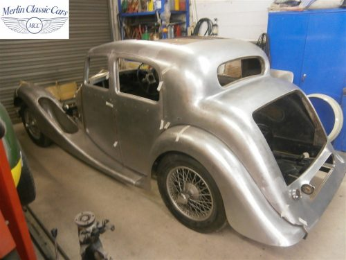 Jaguar SS Saloon Restoration 2